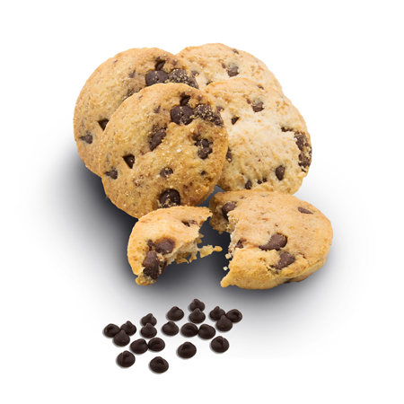 QUCI Mini Cookies Choc Chip